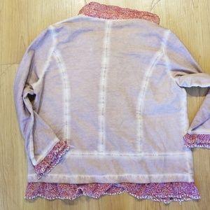 Joe Browns Jackets & Coats - Joe Brown's Ruffle Embroidered  Button Jacket